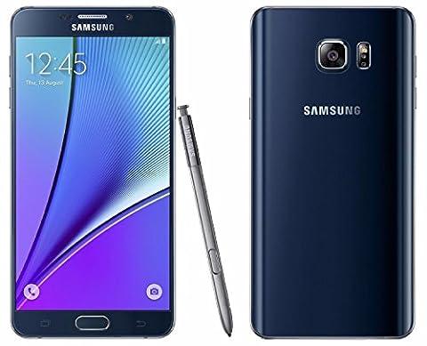 Samsung N920C Factory Unlocked GSM Galaxy Note 5, 32GB - International Version (Black) (Nextel Phone Touchscreen)