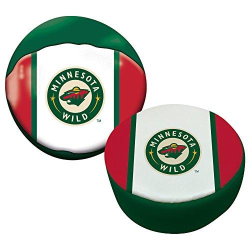 Franklin Sports NHL Minnesota Wild Soft Sport Ball & Puck ()