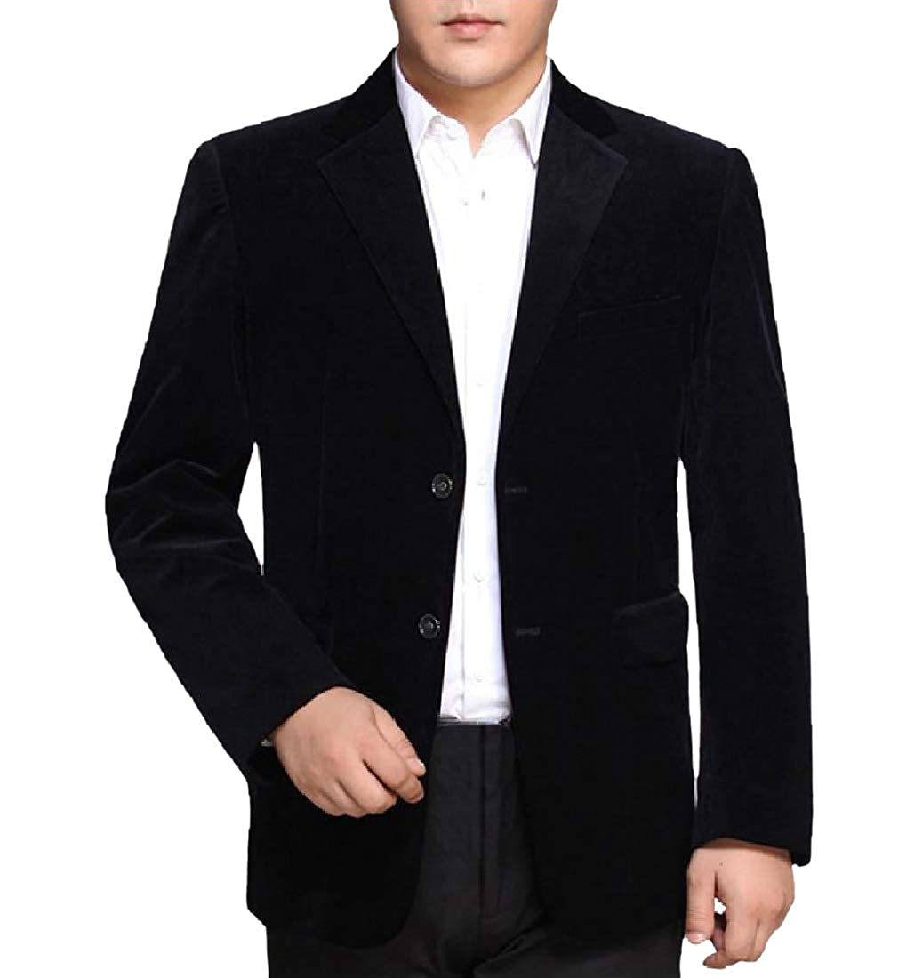 Coolred-Men Outwear Classic-Fit 2 Button Premium Blazer Jacket Coat