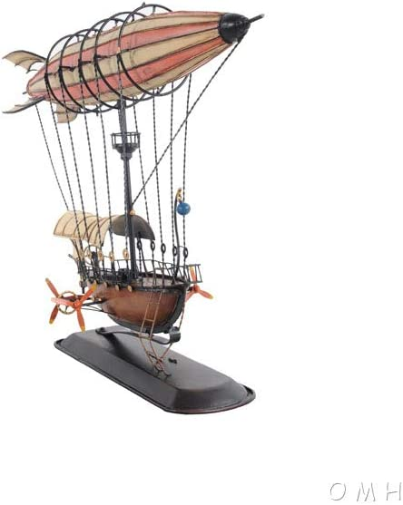 Old Modern Handicrafts Steampunk Airship Model Ceiling Décor, One Size, Multi