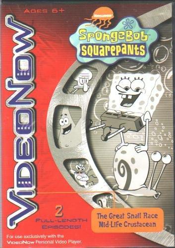Amazon.com: Spongebob Squarepants VideoNow: Caracol raza/mid ...
