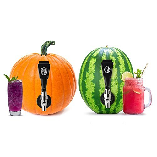 Watermelon keg tapping kit combo with premium coring