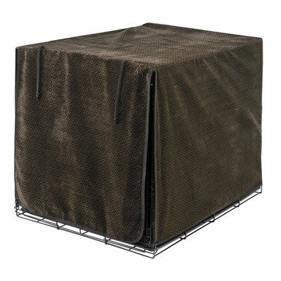Bowsers Lux Crate Cover - Chocolate Bones - Large