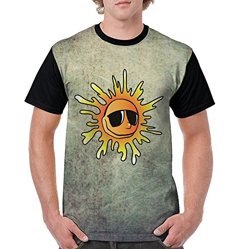 Sunflowers Sunglasses Cool Hip Hop Comfort Premium Casual Short-Sleeve For - Sunglasses Sunflower