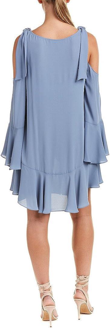 BCBGMAXAZRIA Womens Ellyson Cold-Shoulder A-line Dress