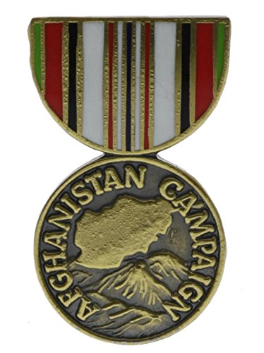 Army Afghanistan Campaign Medal 1 inch Hat Lapel Pin H14437D187