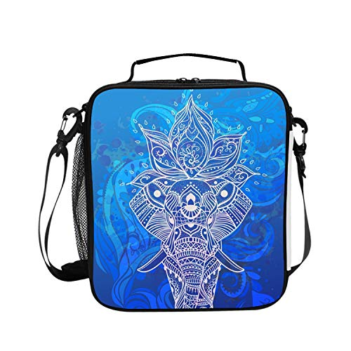 (Insulated Lunch BagBeautiful-card-vector-9296575 Lunchbox Waterproof Cooler Warm Bags Reusable Tote Box)