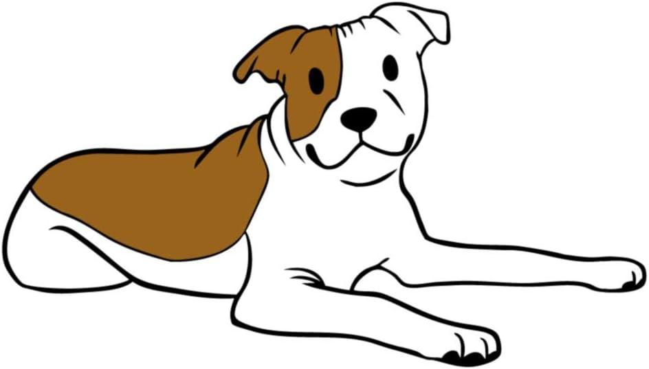 Lovabull Cute Pitbull Dog Sticker Decal Car Laptop Pitbull Mom Window Bumper