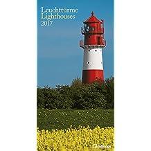 Teneues Lighthouses Calendrier slim poster 33 x 64 cm Blanc