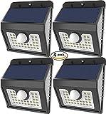 Vivii 30 led Solar lights, Super Bright LED Security Lighting Outdoor Motion Sensor Solar Spotlight...