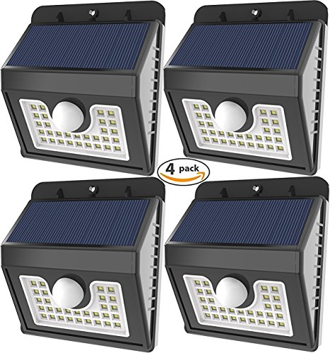 Vivii 30 led Solar lights, Super Bright LED Security Lightin
