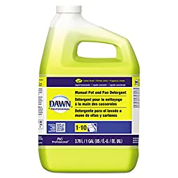 Dawn Professional 57444CT Manual Pot & Pan Dish Detergent, Lemon (Case of 4)