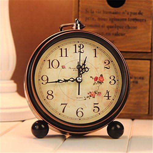 Bluelover Aralm Vintage Reloj Mesa Escritorio Reloj Retro Estilo ...