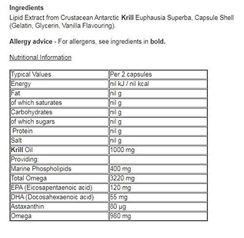 Vitabiotics Ultra Krill Oil - 30 Capsules - 6 Pack