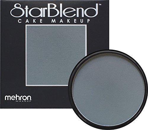 Mehron Makeup StarBlend Cake Makeup MONSTER GREY – 2oz