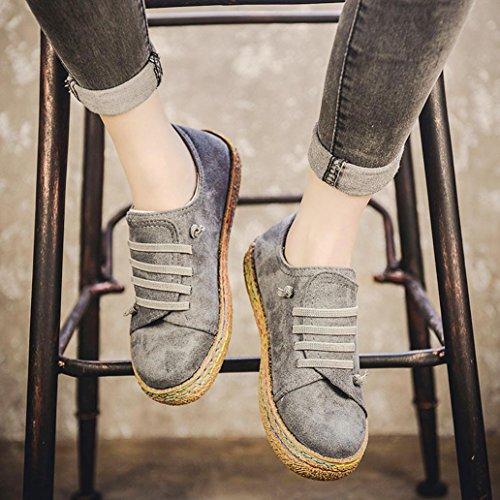 Gris Zerototens Marche Dames Flock Randonne Suede Gymnases Baskets Sportives Respirantes Course Et Sentier Boots Automne Sport De Chaussures Femmes Light Leather Douces Bottes Plates rfCXrg7qw