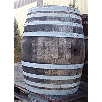 Amazoncom Mgp Oak Wood Whole Wine Barrel 26 D X 35 H Outdoor