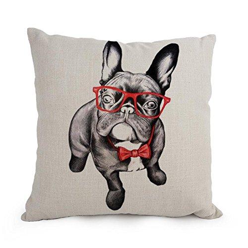 artistdecor funda de almohada de perro negro 12 x 20 Inches ...