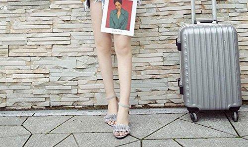 Hebilla Con Correa De Una Para Meili Sandalias Sola 3 Mujer UfqaR