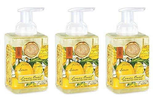 (Michel Design Works Foaming Hand Soap, 17.80-Fluid Ounce, Lemon Basil -)