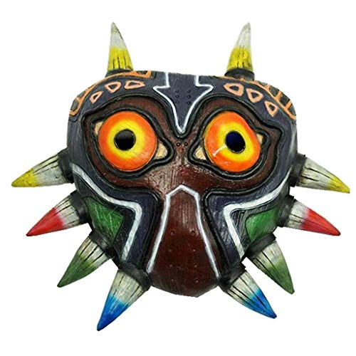 Legend Of Zelda Costume For Kids (Majora's Mask colorful Mask Cosplay Costume Accessory)