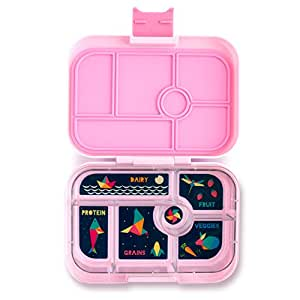 YUMBOX (Bahamas Pink) Leakproof Bento Lunch Box Container for Kids