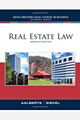 Real Estate Law (South-Western Legal Studies in Business Academic Series) Hardcover