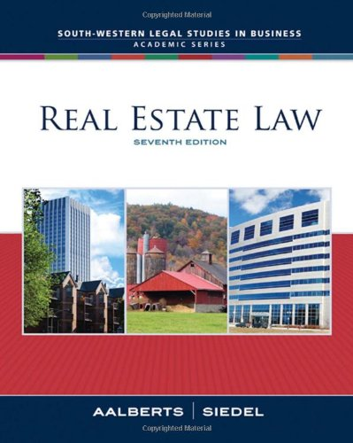 real-estate-law-south-western-legal-studies-in-business-academic