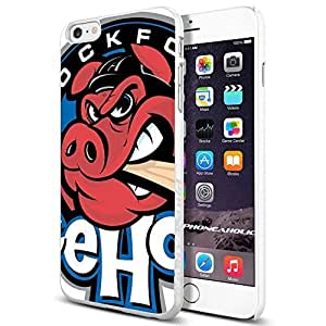 diy zhengRock Ford Icehogs Logo, , Cool Ipod Touch 5 5th Smartphone Case Cover Collector iphone TPU Rubber Case White [By PhoneAholic]