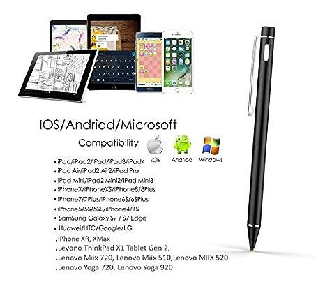 Amazon.com: Lápiz capacitivo activo para pantalla táctil de ...