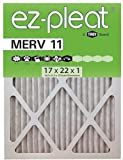 MERV 11 Fan Coil Air Filter 17x22x1 (16.5x21.5x.75), 6-Pack, For Bryant/Carrier Units