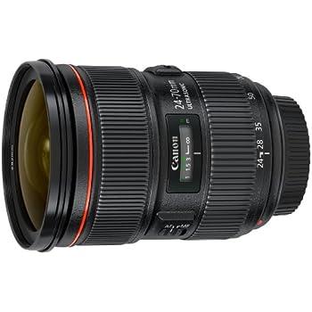 Canon EF 24-70mm f/2.8L II USM Standard Zoom Lens