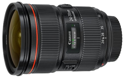 Canon EF 24-70mm f/2.8L II USM Standard Zoom Lens (Best 2.8 Lens For Canon)