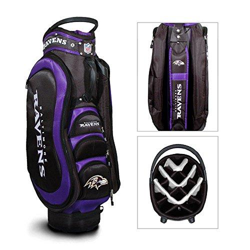 NFL Baltimore Ravens Cart Golf Bag ()