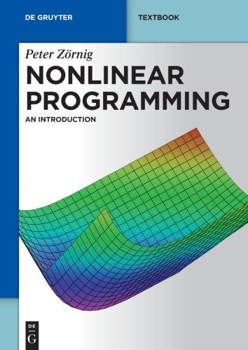 Nonlinear Programming: An Introduction (de Gruyter Textbook)