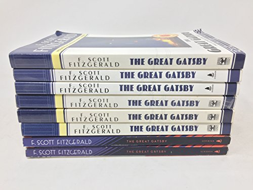 The Great Gatsby classroom group multiple copy reading set