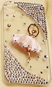 iPhashon Golden Ballerina BALLET DANCER Case for iPhone 4S and 4 Verizon AT&T Sprint Bling