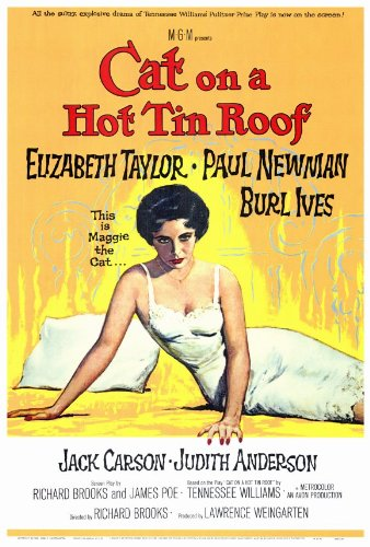 (Cat On a Hot Tin Roof 27 x 40 Movie Poster - Style A )