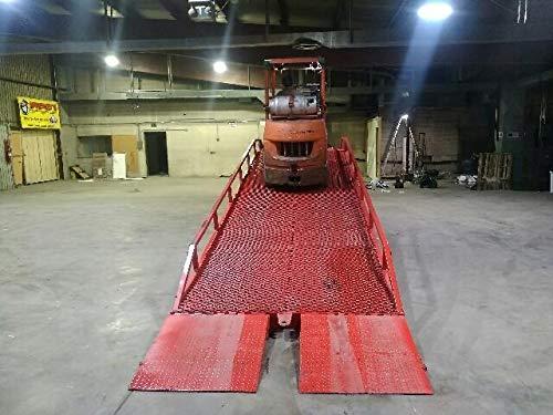 Yard Ramp, Trailer Loading Dock, Forklift Ramp, 35 Ft Long 83