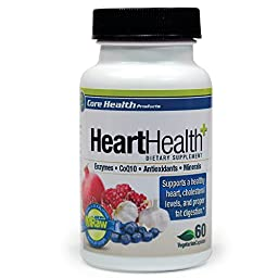 Heart Health:: Optimizes Fat Digestion:: CoQ10:: Advanced Enzyme Delivery System:: Superior Plant-based Minerals
