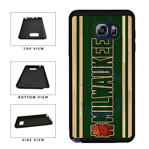 BleuReign(TM) Basketball Team Hashtag Milwaukee #Milwaukee TPU RUBBER SILICONE Phone Case Back Cover For Samsung Galaxy S8 Plus