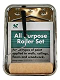 Quali-Tech 914-MAP RollerLite All Purpose Professional Standard Paint Kit with Metal Tray, Roller and Roller Cover, 9''