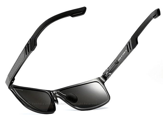 VEITHDIA - Gafas de sol - para hombre Gris gris