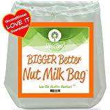 best seller today Pro Quality Nut Milk Bag - Big...