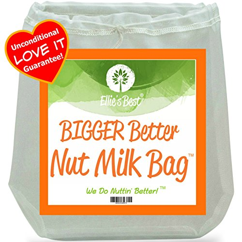 Almond Nut Milk (Pro Quality Nut Milk Bag - Big 12