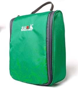 BSWolf Unisex Travel Toiletry Shaving Bag (Jade Green)