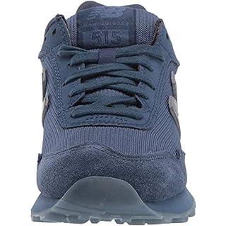 New Balance Women's 515 V1 Sneaker, Vintage Indigo/Deep Porcelain Blue/Silver Metallic, 5 M US