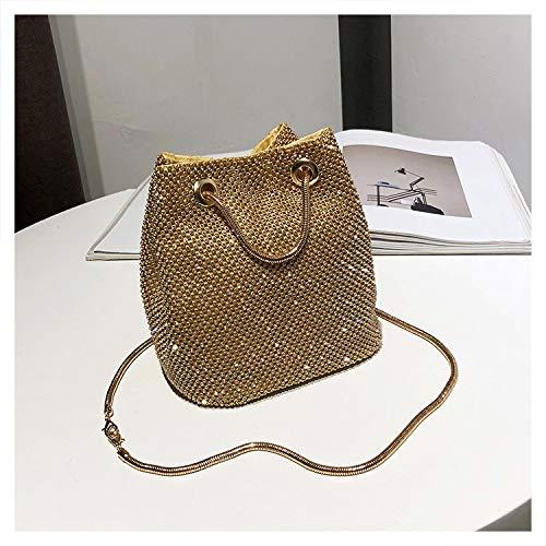 HITSAN INCORPORATION Luxy Moon Full Diamond Women Shoulder Bag Totes Bling  Evening Bag Party Purse Wedding afbb771eb8fe