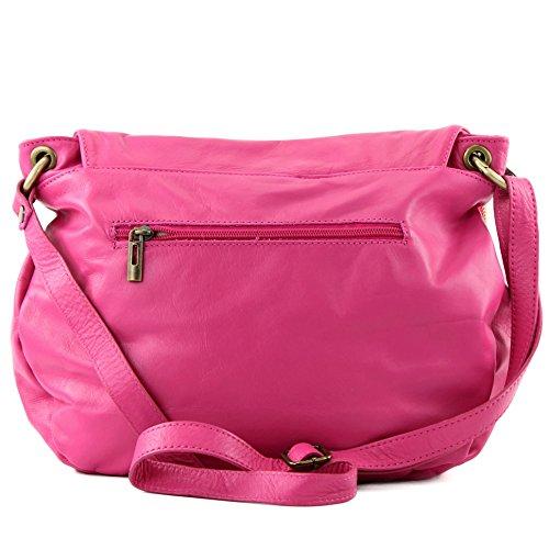 Bolso cruzados Pink Made mujer para Italy zOnwpR0