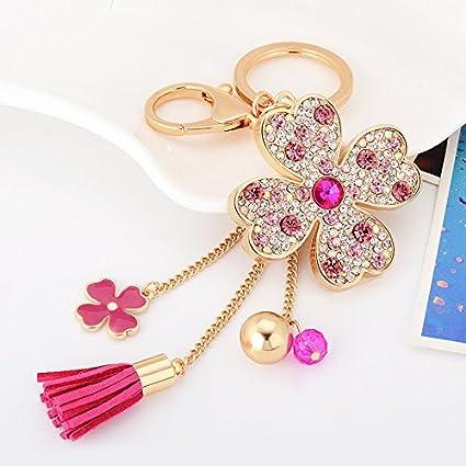 Amazon.com   Colourful kawaii cute Clover Shape + PU leather Charms ... a93e428df